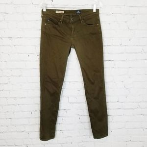 3/$18or5/$25 AGOlive The Stevie Ankle Sateen Pants